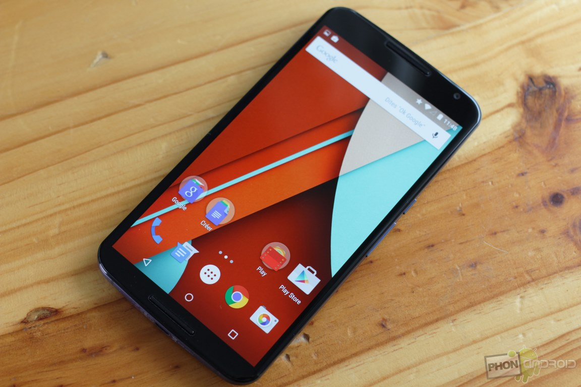 nexus 6 resolution ecran