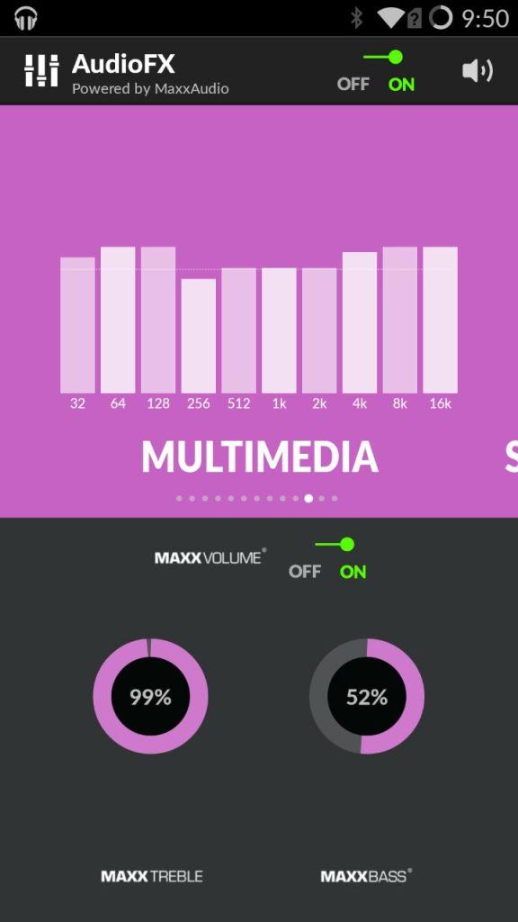 OnePlus One AudioFX