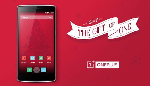 OnePlus One Noël