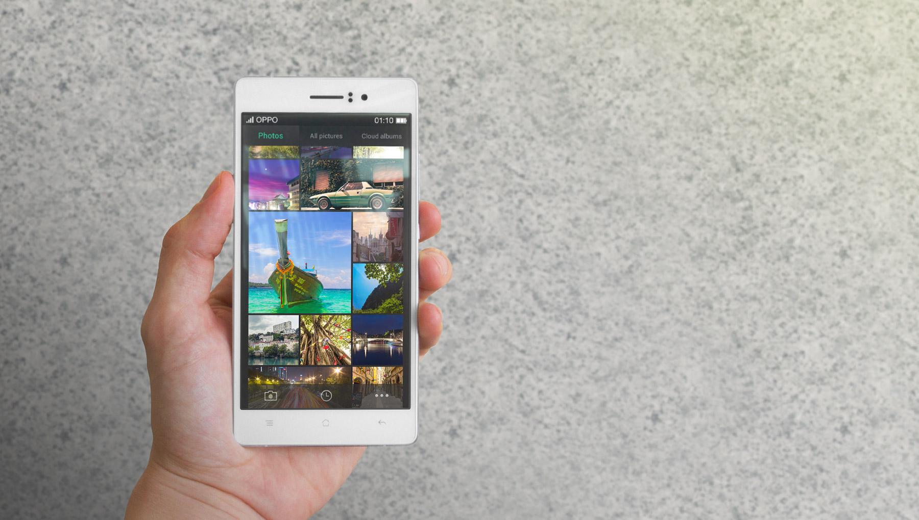 Oppo R5 un appareil de moyen de gamme