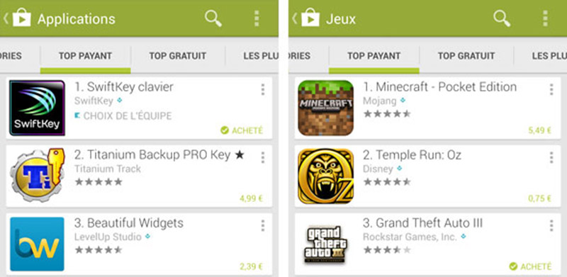 play store prix changer 2015