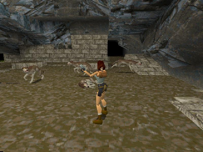 playstation Tomb raider
