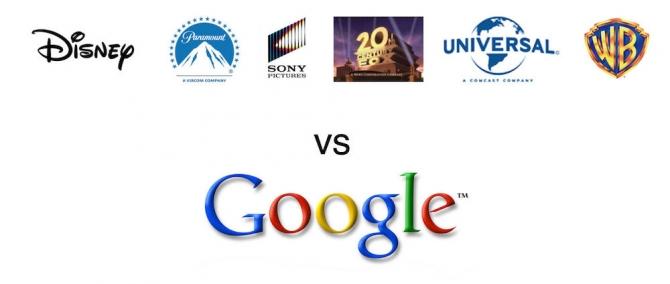 google vs mpaa