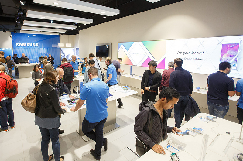 samsung ferme boutique londres