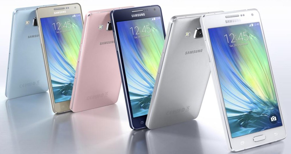 Samsung Galaxy A5 en Europe
