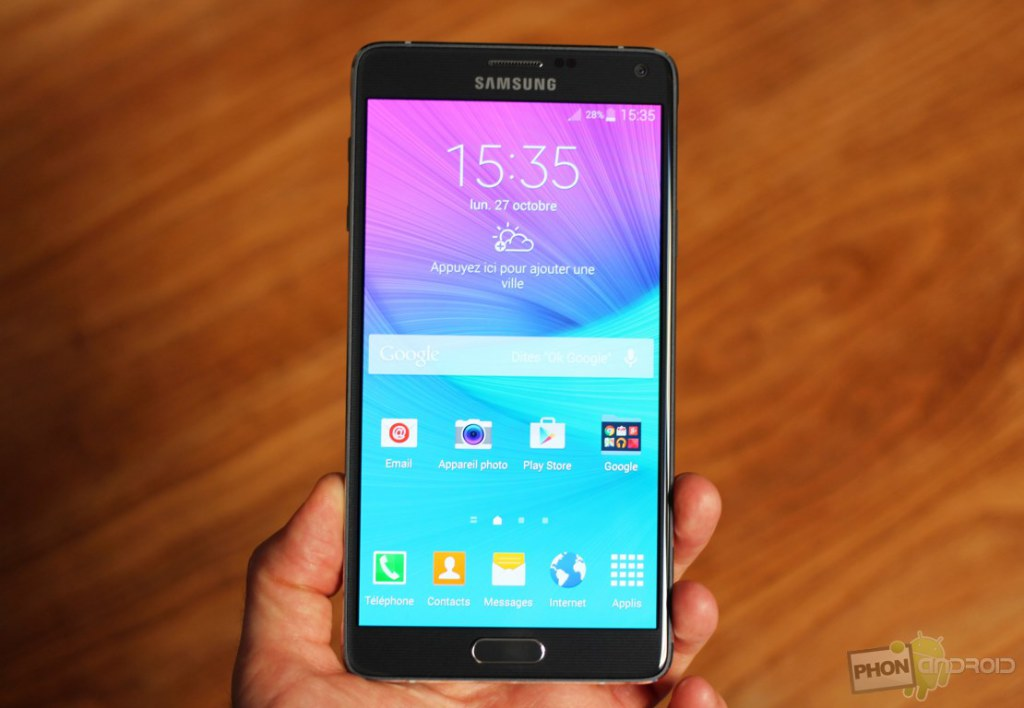 Galaxy Note 4 et les redémarrages intempestifs