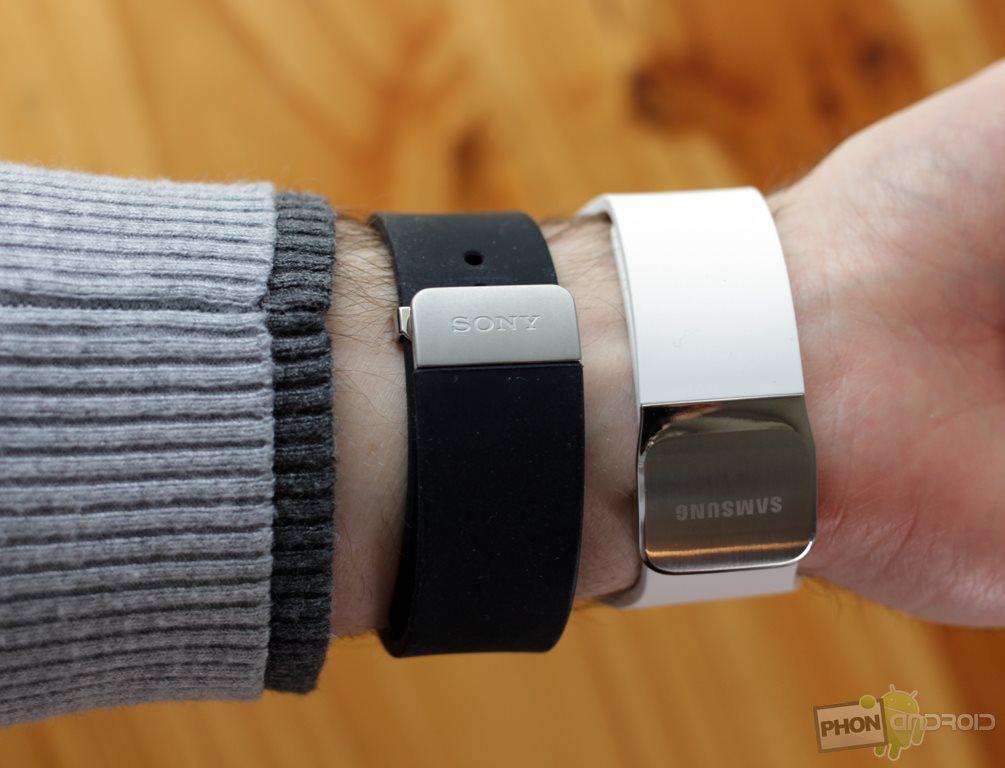 samsung gear s comparatif bracelet