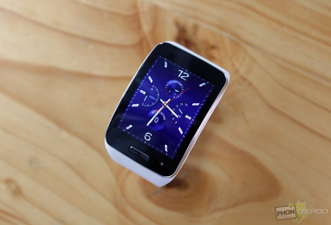 samsung gear s montre connectee