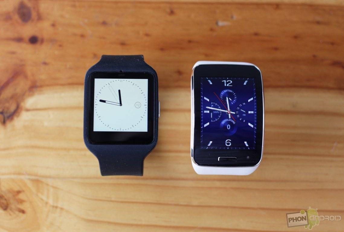 samsung gear s sony smartwatch 3