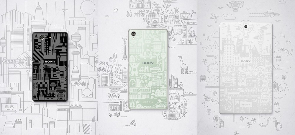 Sony Xperia Z3 Famille Editions Limitées