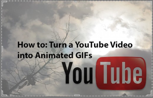 YouTube permet de créer des GIF