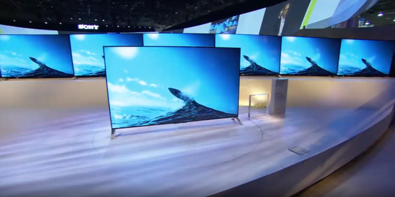 sony ces 2015 tv 4K android tv