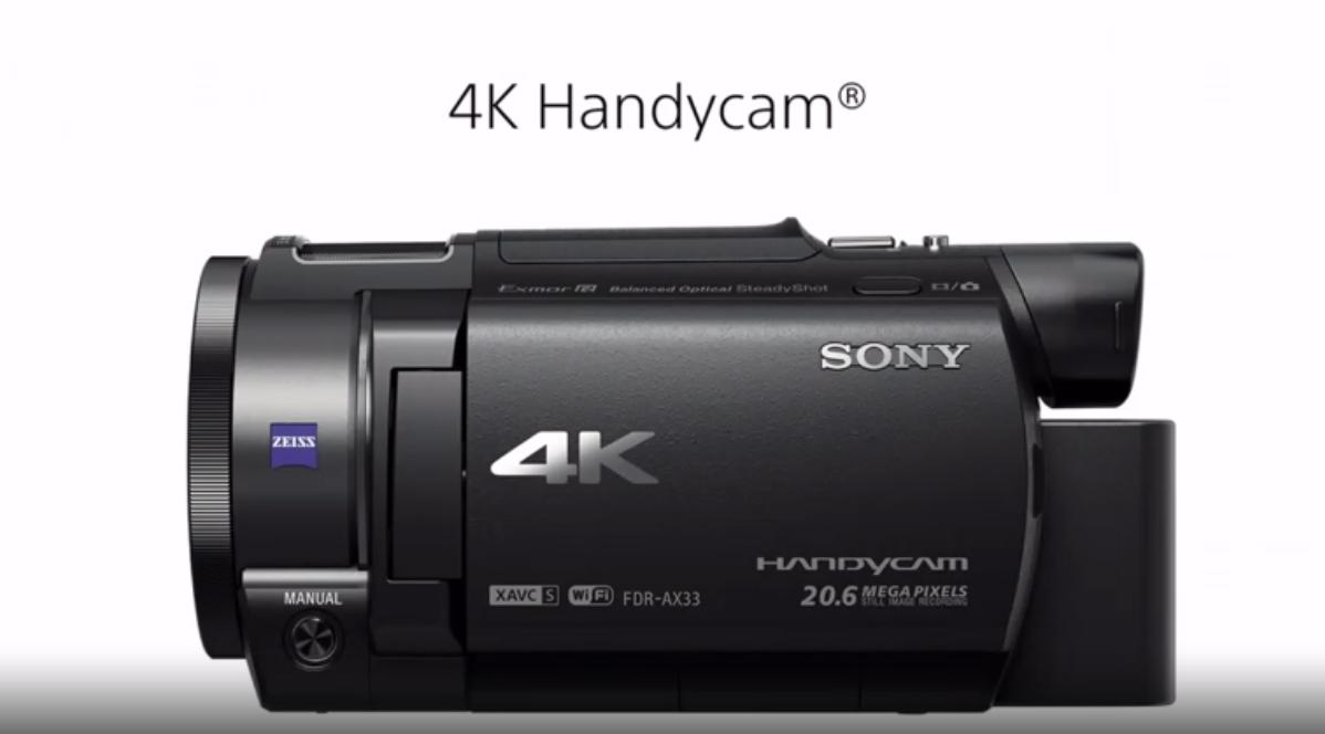 premiere camera 4K sony ces 2015