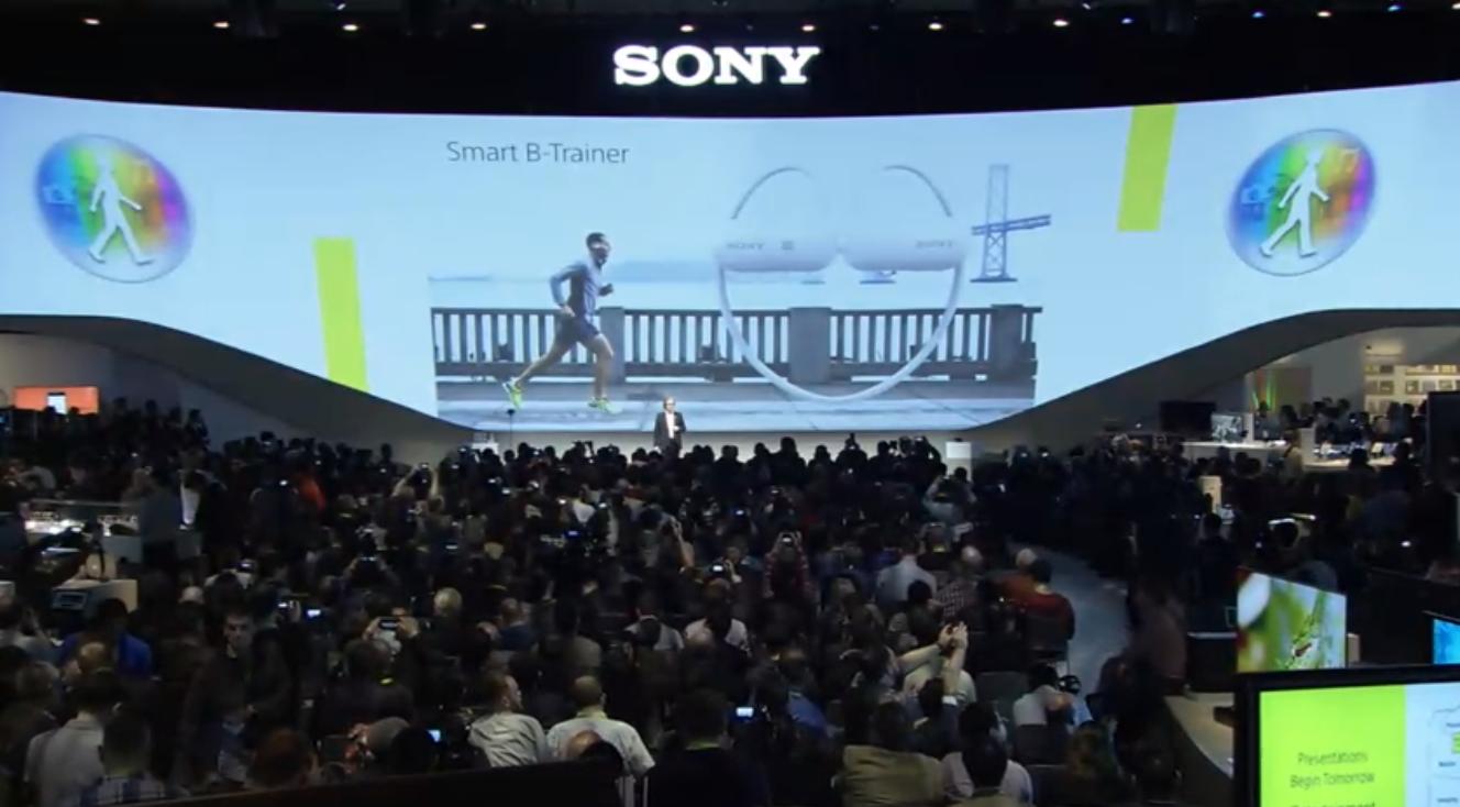 Sony B Trainer écouteurs connectés