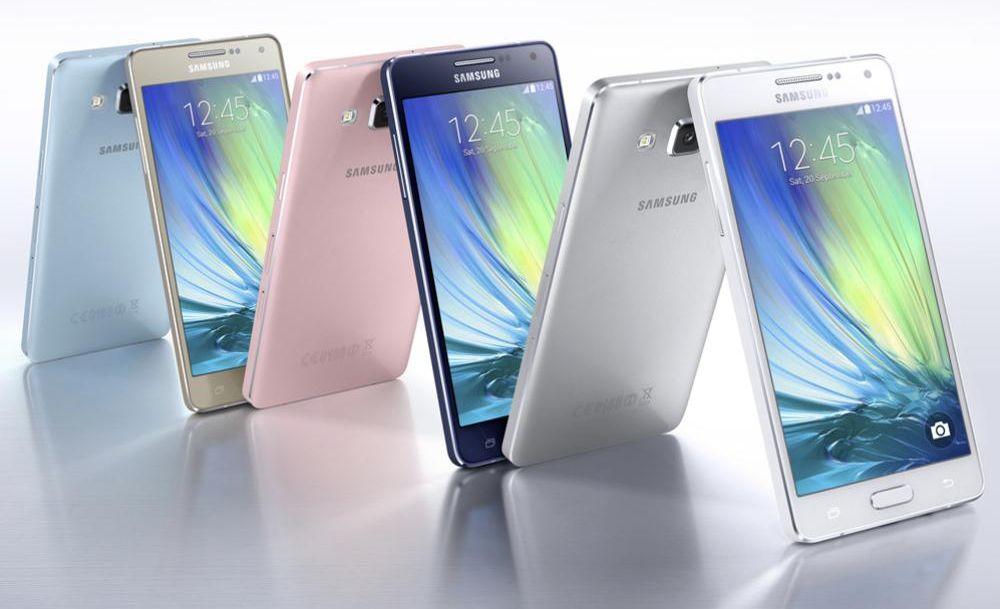 Galaxy A3 et Galaxy A5 précommandes