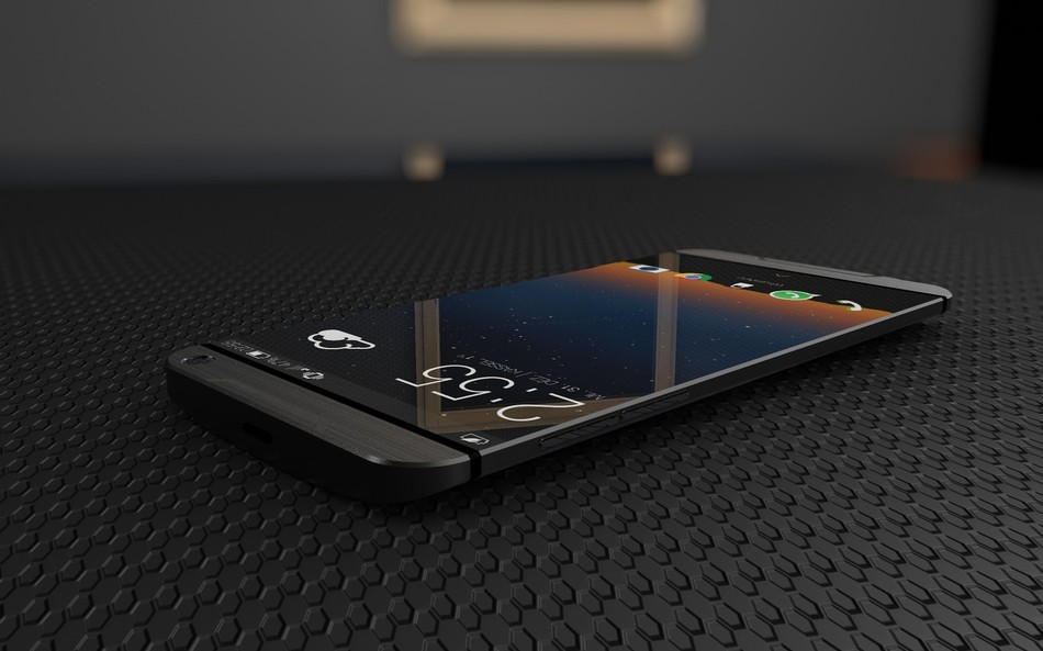HTC Hima , un concept en images avec triple flash LED