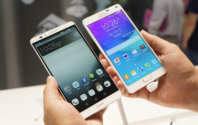 Huawei Ascend Mate 7 Galaxy Note 4