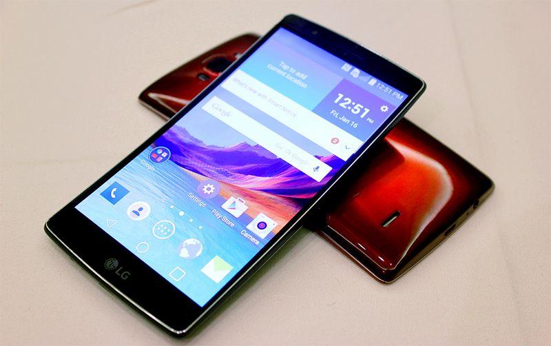 LG G Flex 2 benchmarks