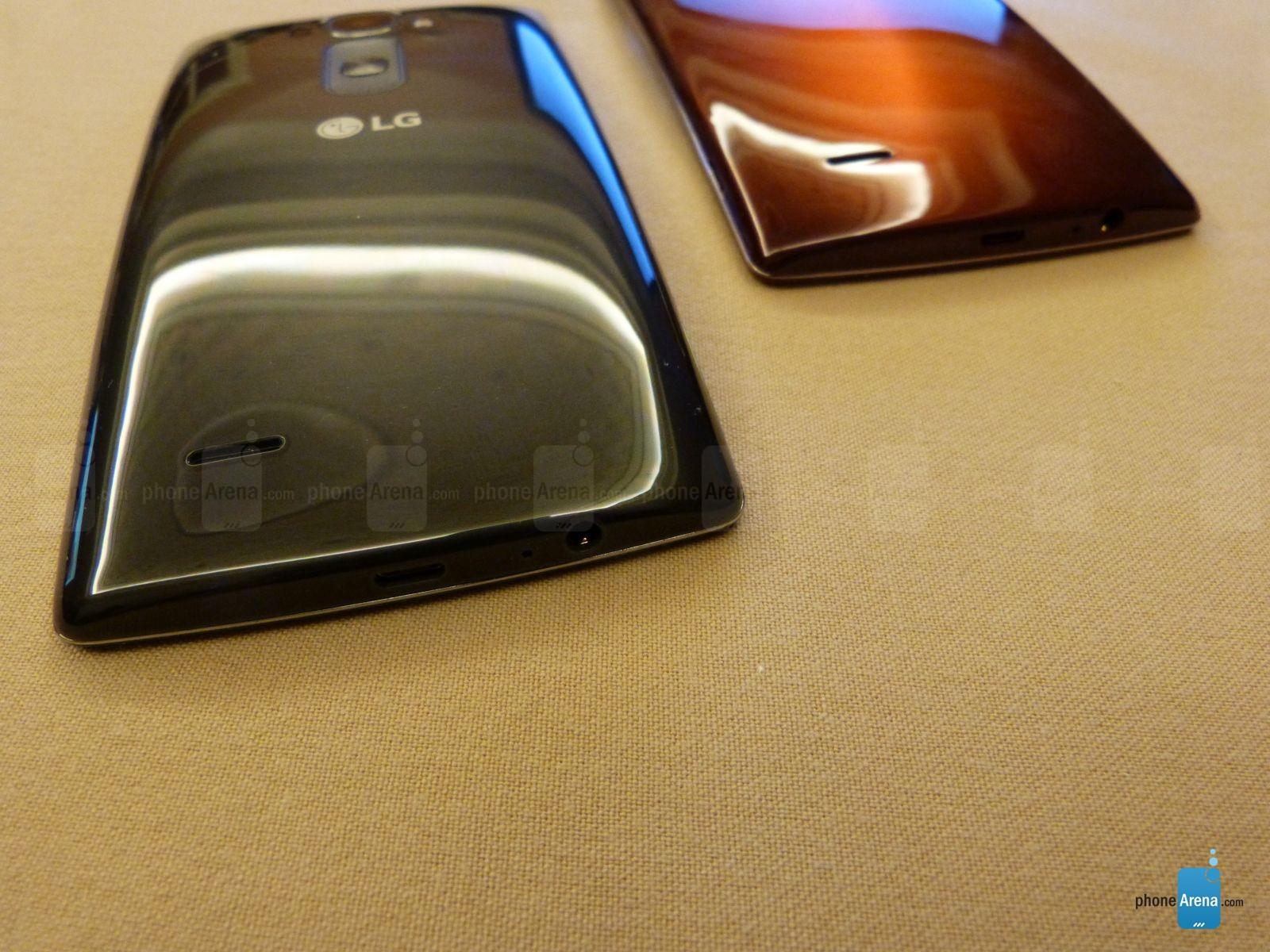 LG G Flex 2 avec Android Lollipop