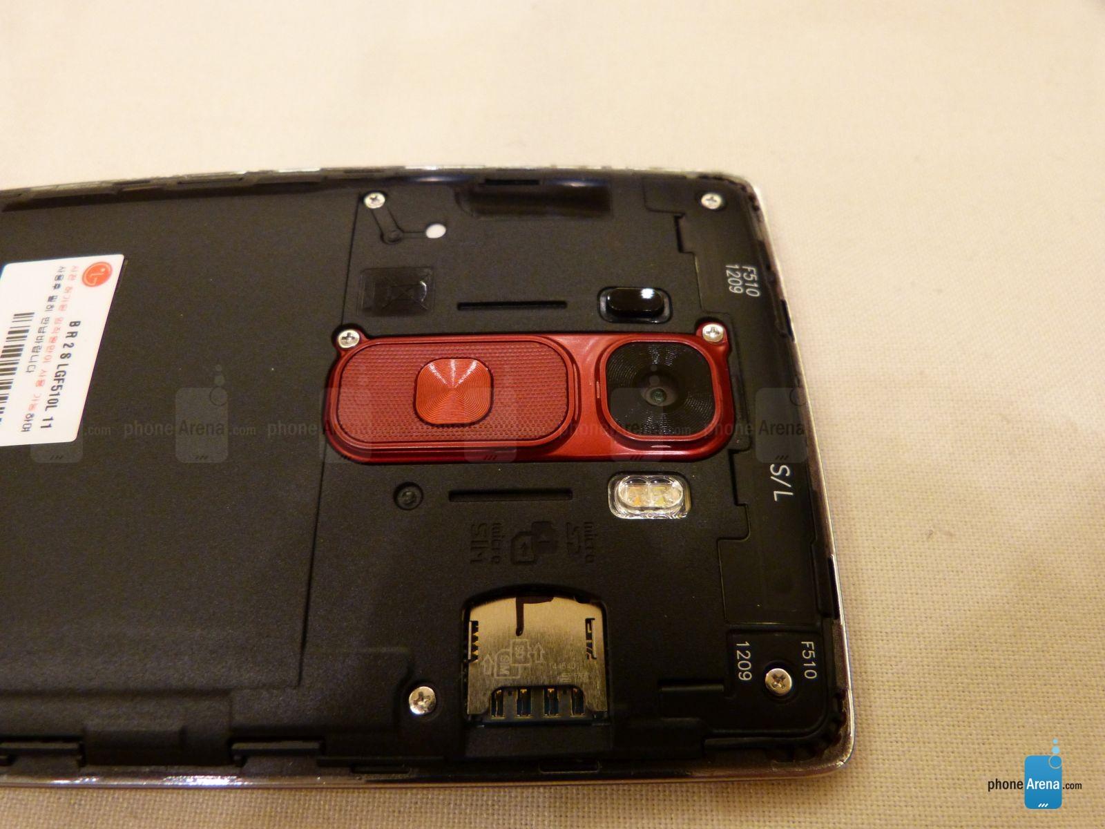 LG G Flex 2 avec port SD