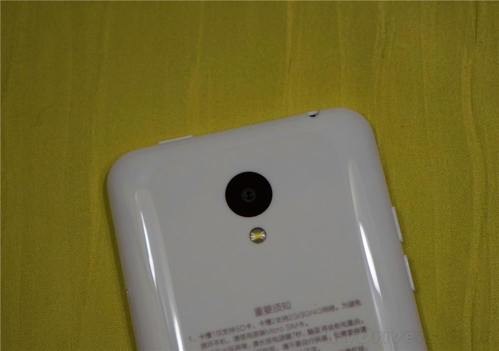 Meizu M1 caméra