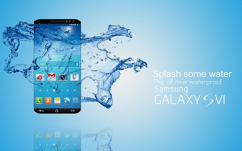 galaxy s6 pas waterproof