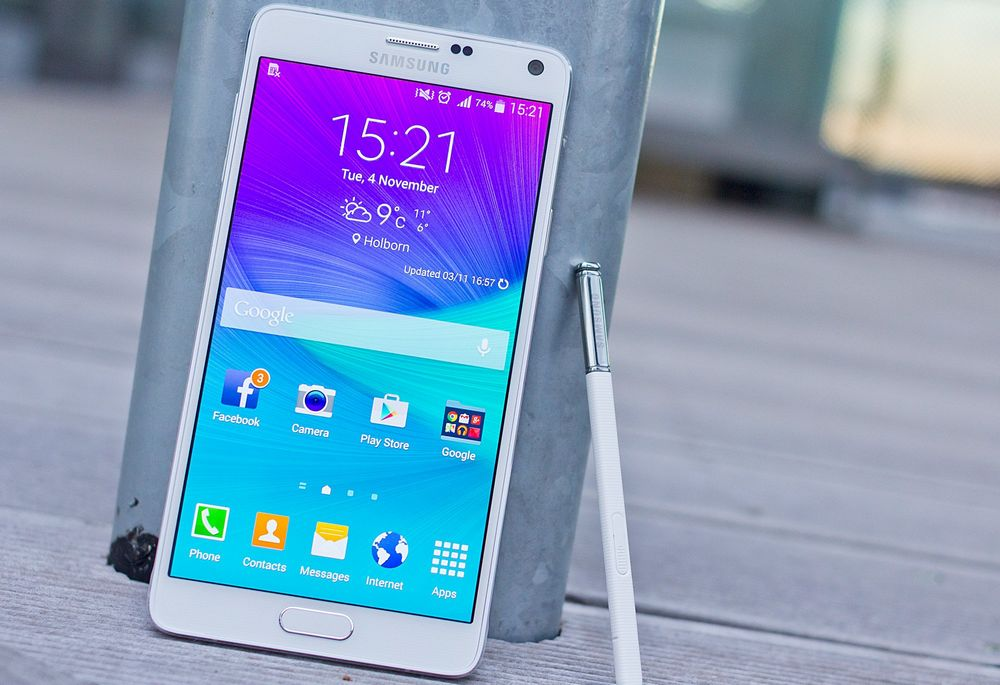 mise à jour Android Lollipop Galaxy Note 4