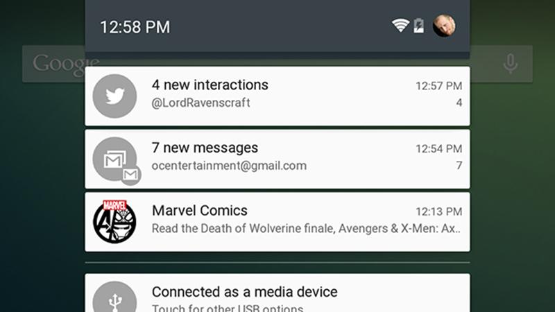 android lollipop notifications retour premières années ios
