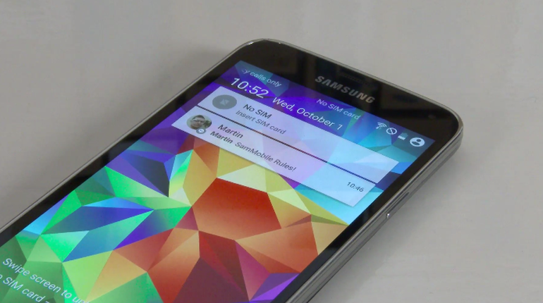 android lollipop miser a jour galaxy s5 officielle