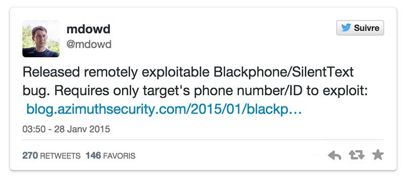 blackphone hacker simple sms