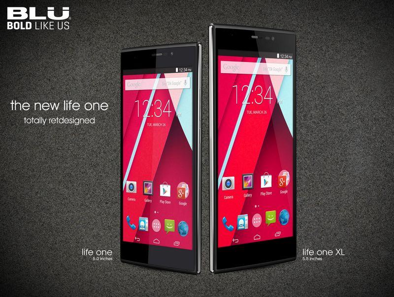 BLU 7 smartphones Life one
