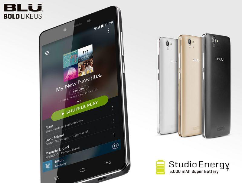 BLU 7 smartphones studio energy