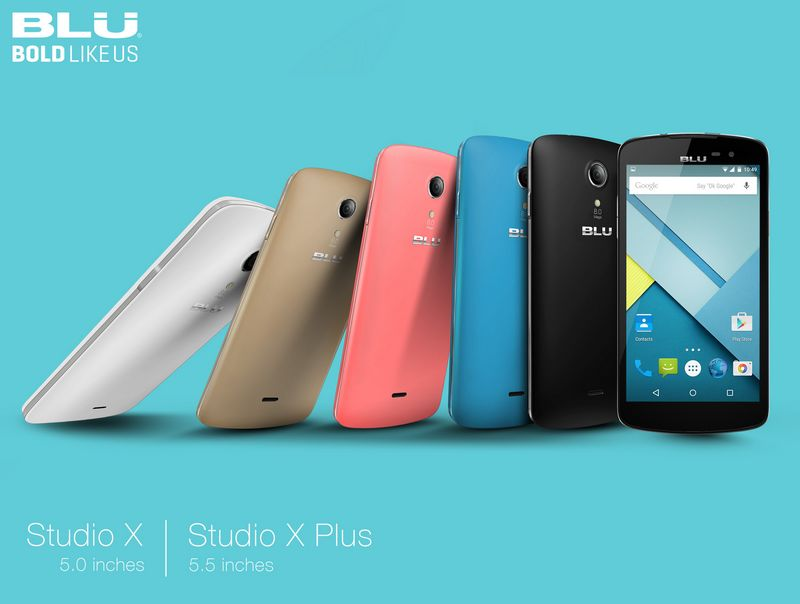 BLU 7 smartphones studio x