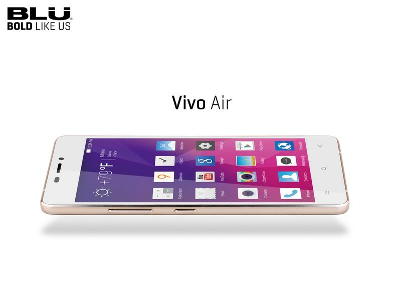 BLU 7 smartphones vivo air