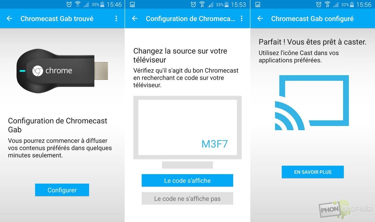 Tutoriel chromecast comment l 39 installer et le configurer for Configurer ecran pc