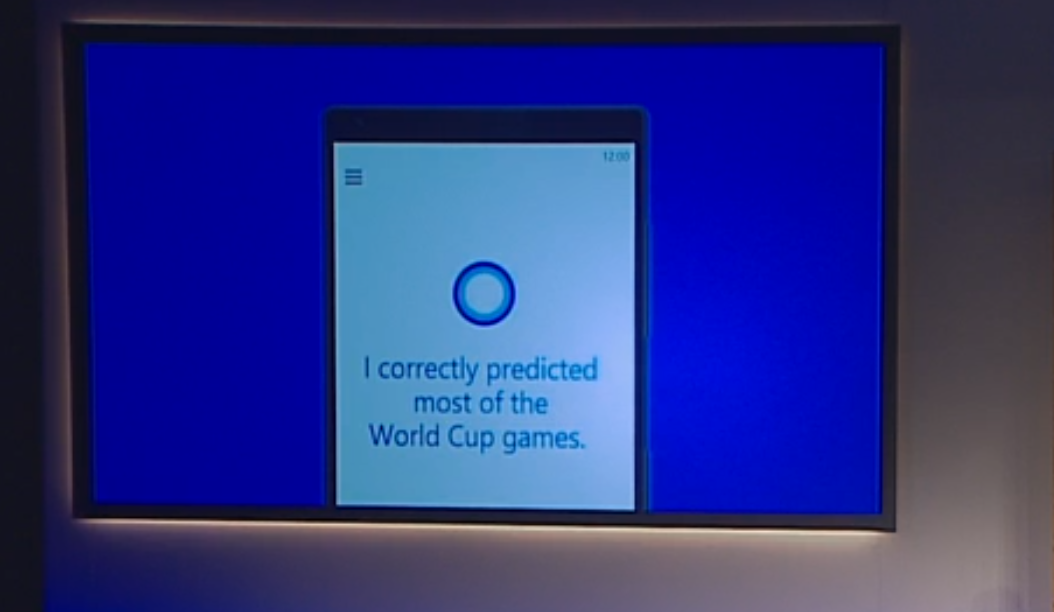 Cortana sur Windows 10