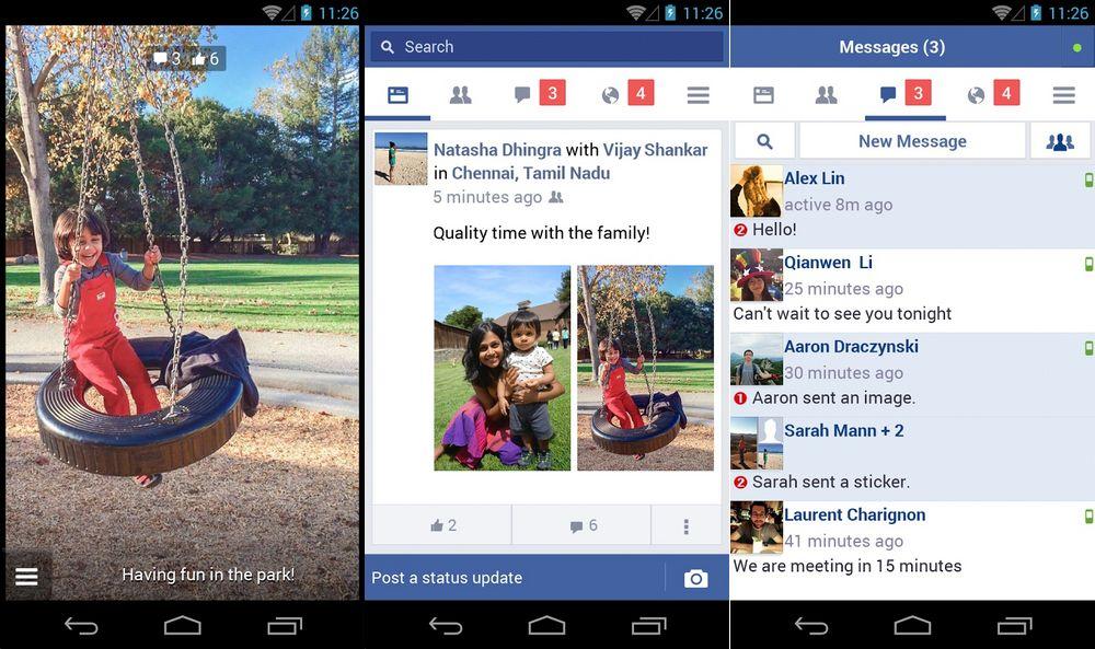 Facebook, une version Lite pour les smartphones d'entrée de gamme.
