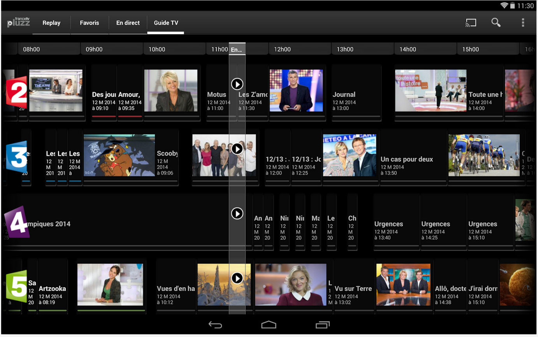 Francetv Pluzz, les programmes en LIVE