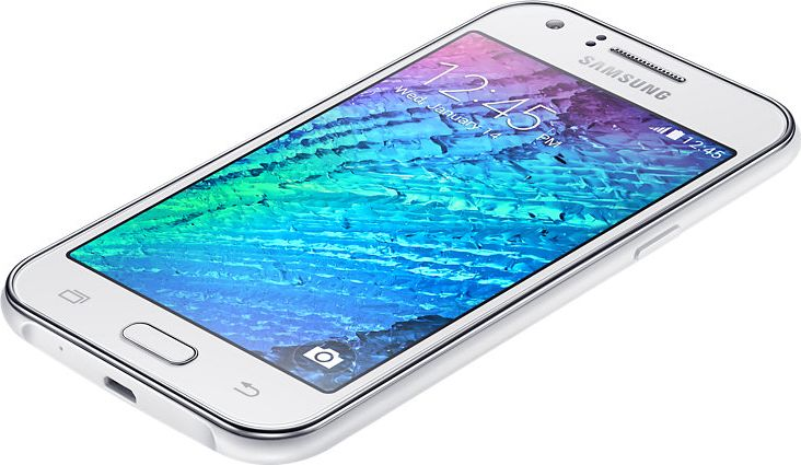 Galaxy J1 blanc