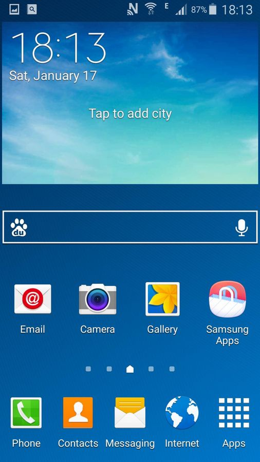 Galaxy S4 Lollipop launcher