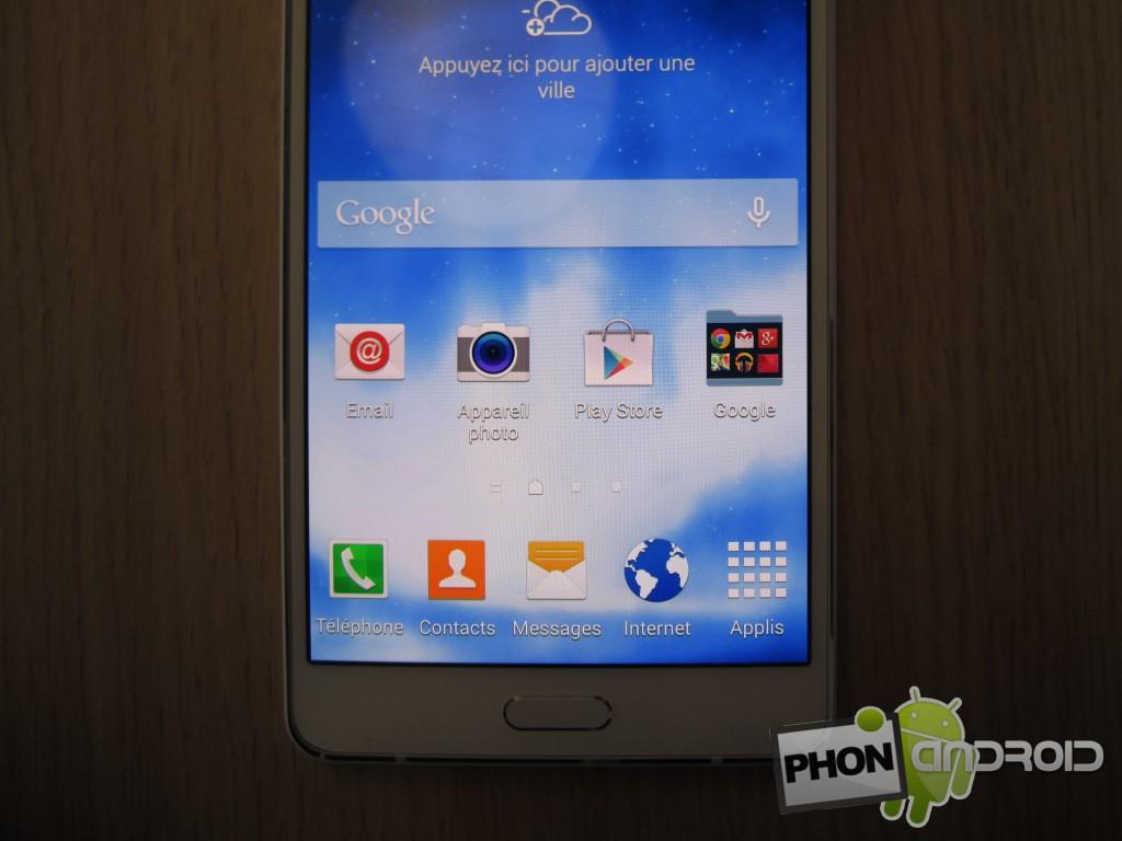 Galaxy A7 avec capteur photo de 13 MP