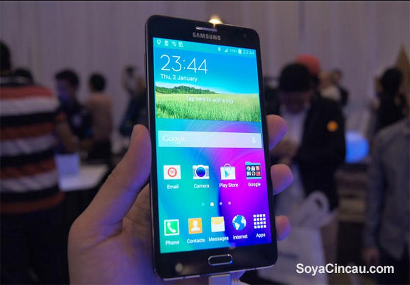 GALAXY A7 - самый тонкий смартфон Samsung