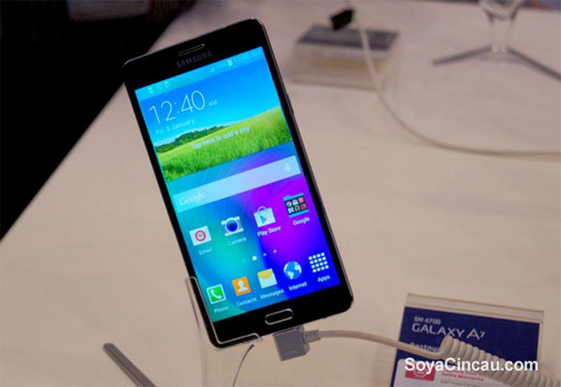 Экран Samsung GALAXY A7