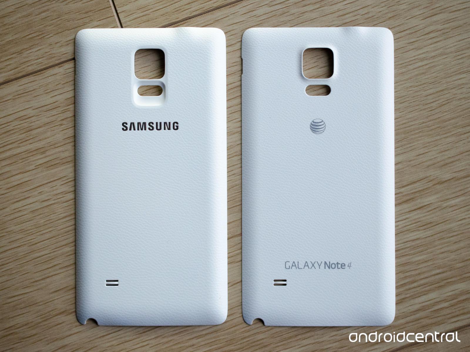 Le Galaxy Note 4 et le rechargement sans fil
