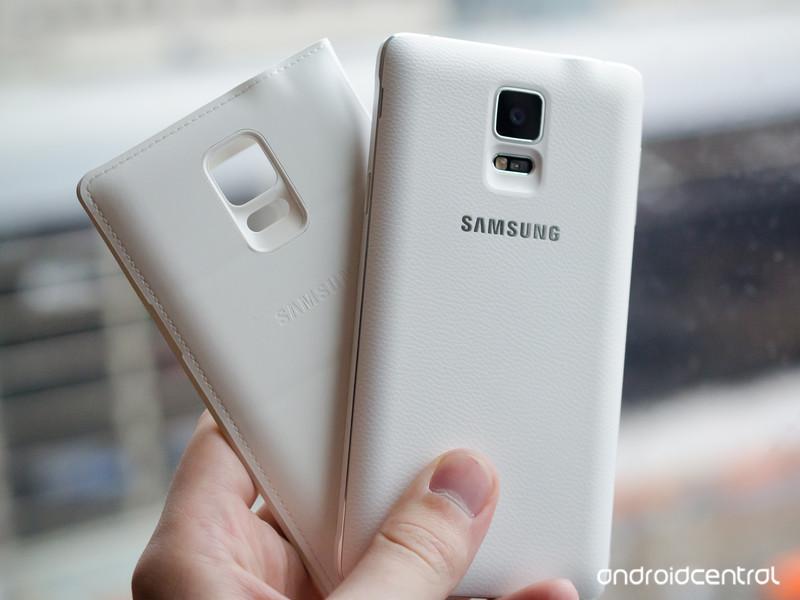 Le Galaxy Note 4 et le rechargement sans fil Qi