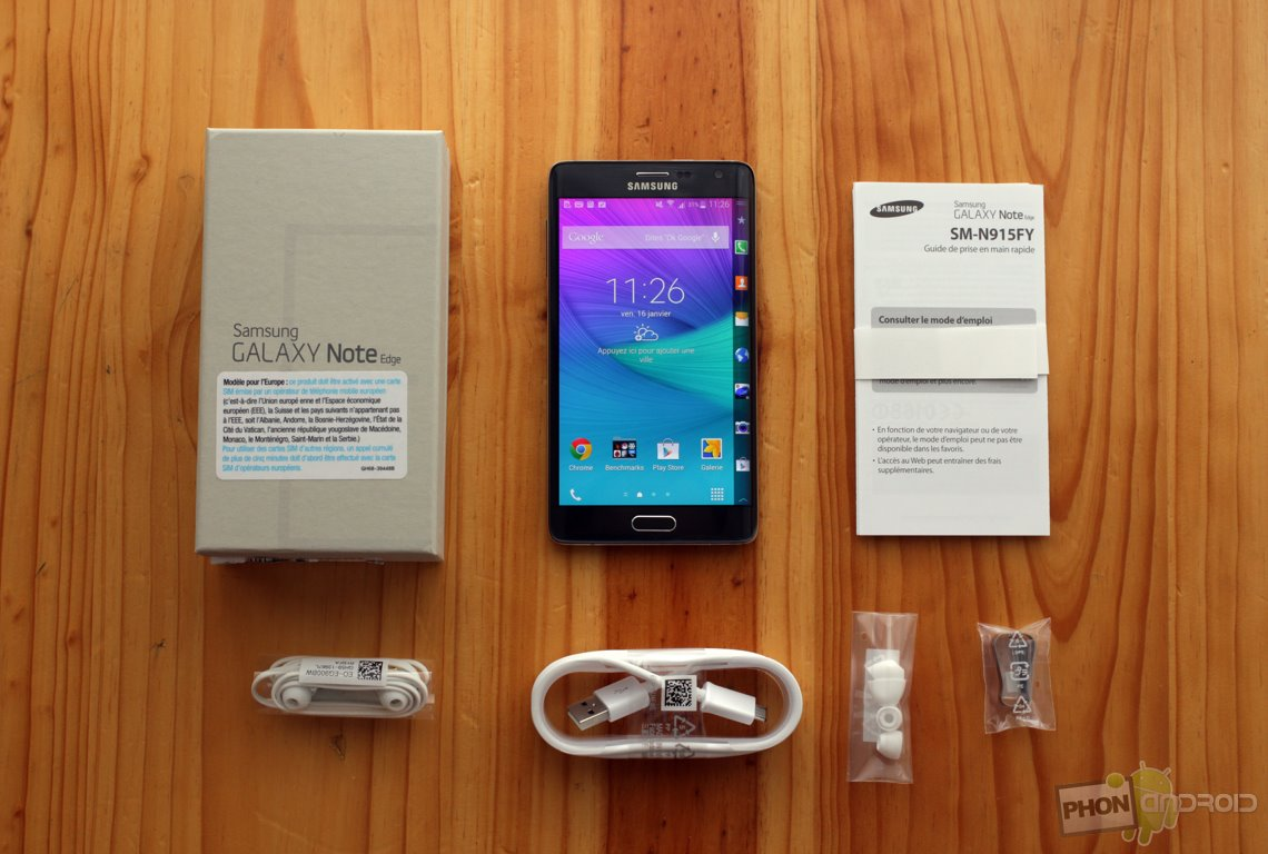 Test Du Galaxy Note Edge Le Smartphone Extraterrestre