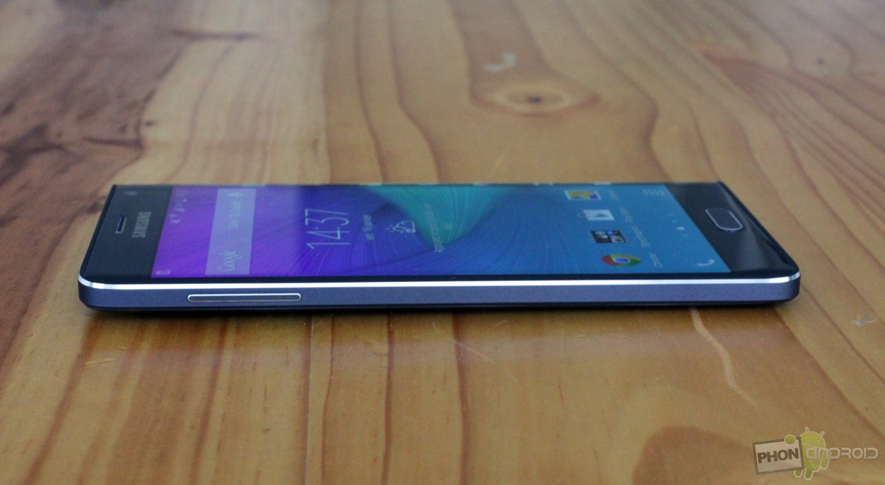 galaxy note edge bouton volume