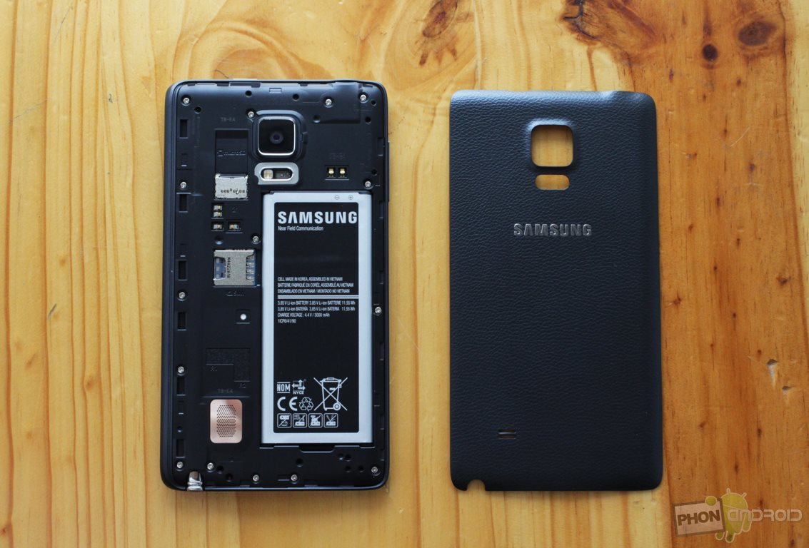 galaxy note edge coque amovible