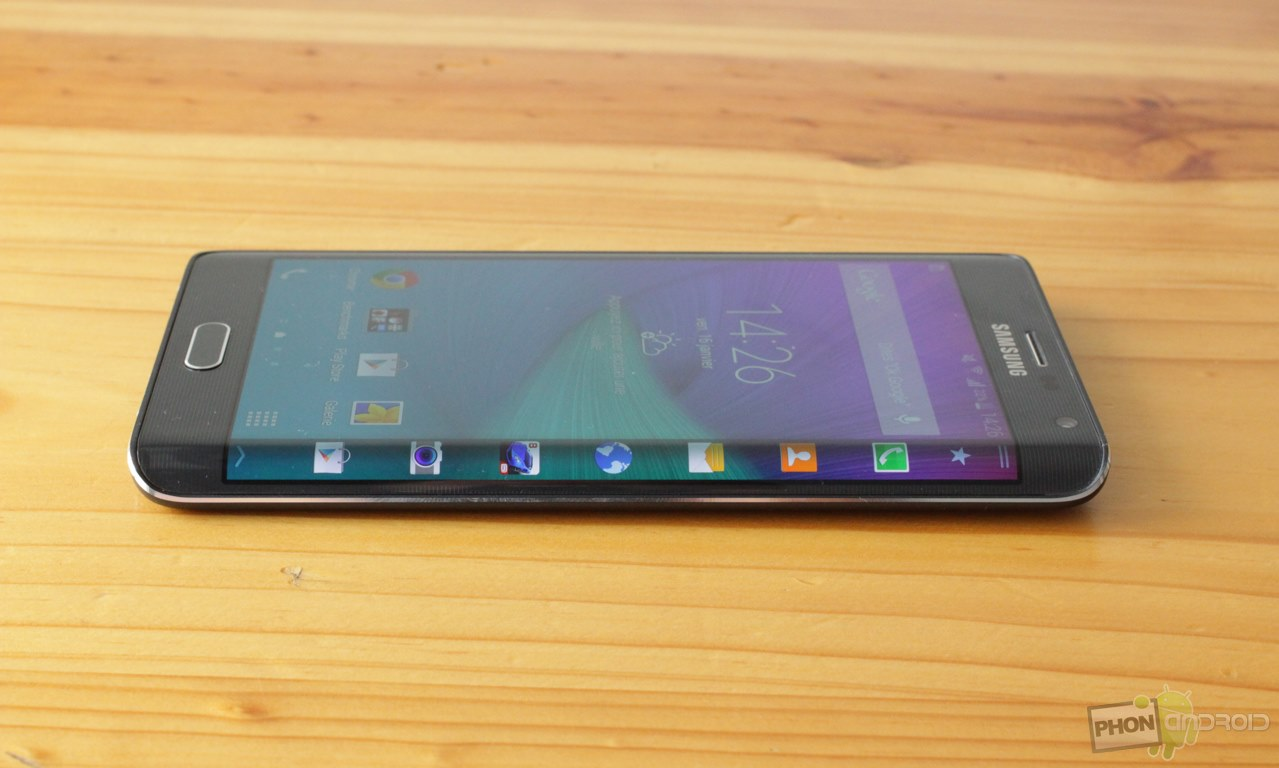 galaxy note edge ecran incurve