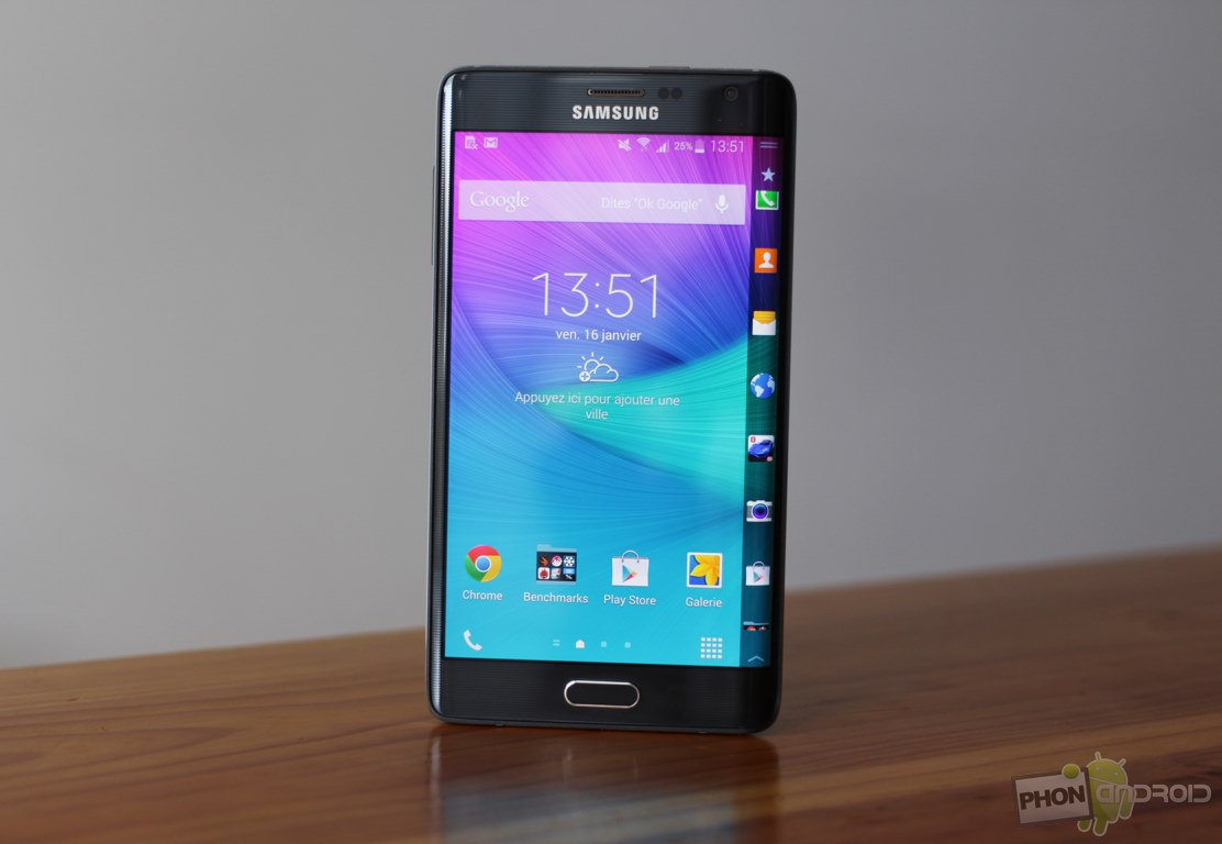 galaxy note edge test